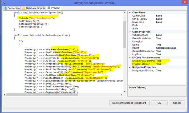 Entity Model Generator for Visual Studio 2015 - Visual ...