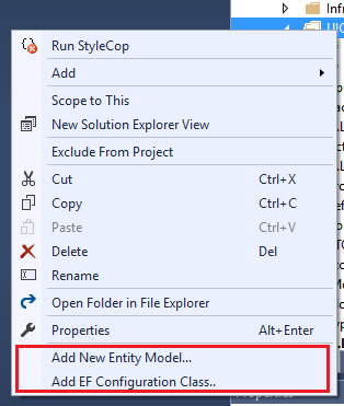 Entity Model Generator For Visual Studio 2017 Visual Studio